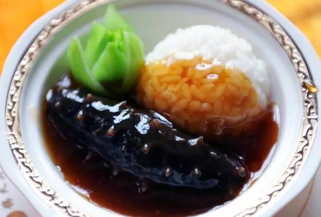 鲍汁海参捞饭做法